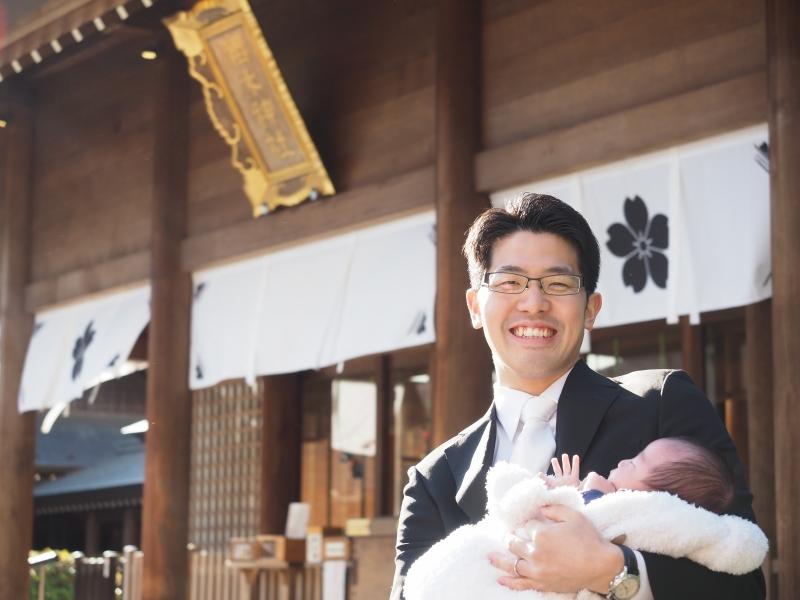 櫻木神社 お宮参り