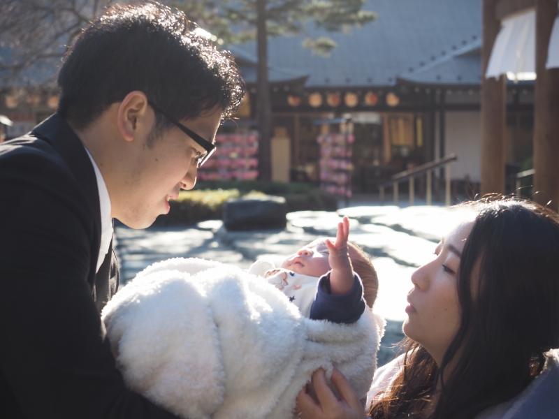 お宮参り 櫻木神社