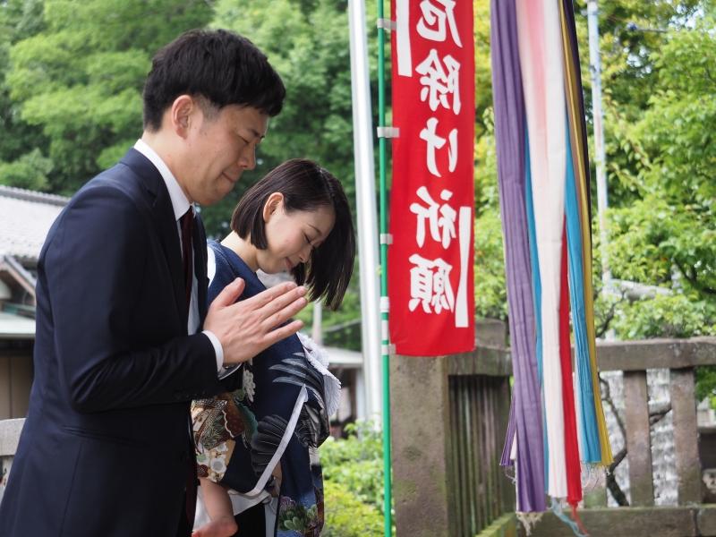 豊玉氷川神社 お宮参り 出張撮影